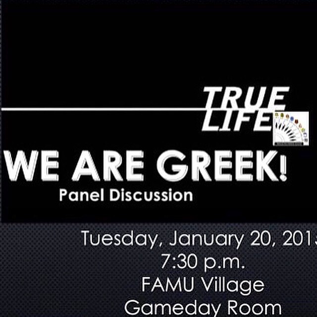 Come find out what's it's like being Greek on famu's campus! @famu_nphc