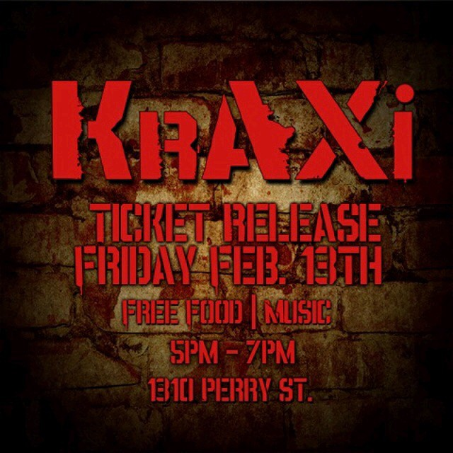 Tickets Release going on after set Friday! Kome kick it with the NUPES